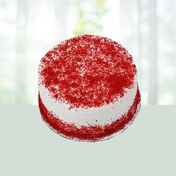 Dramatic Red Velvet Cake