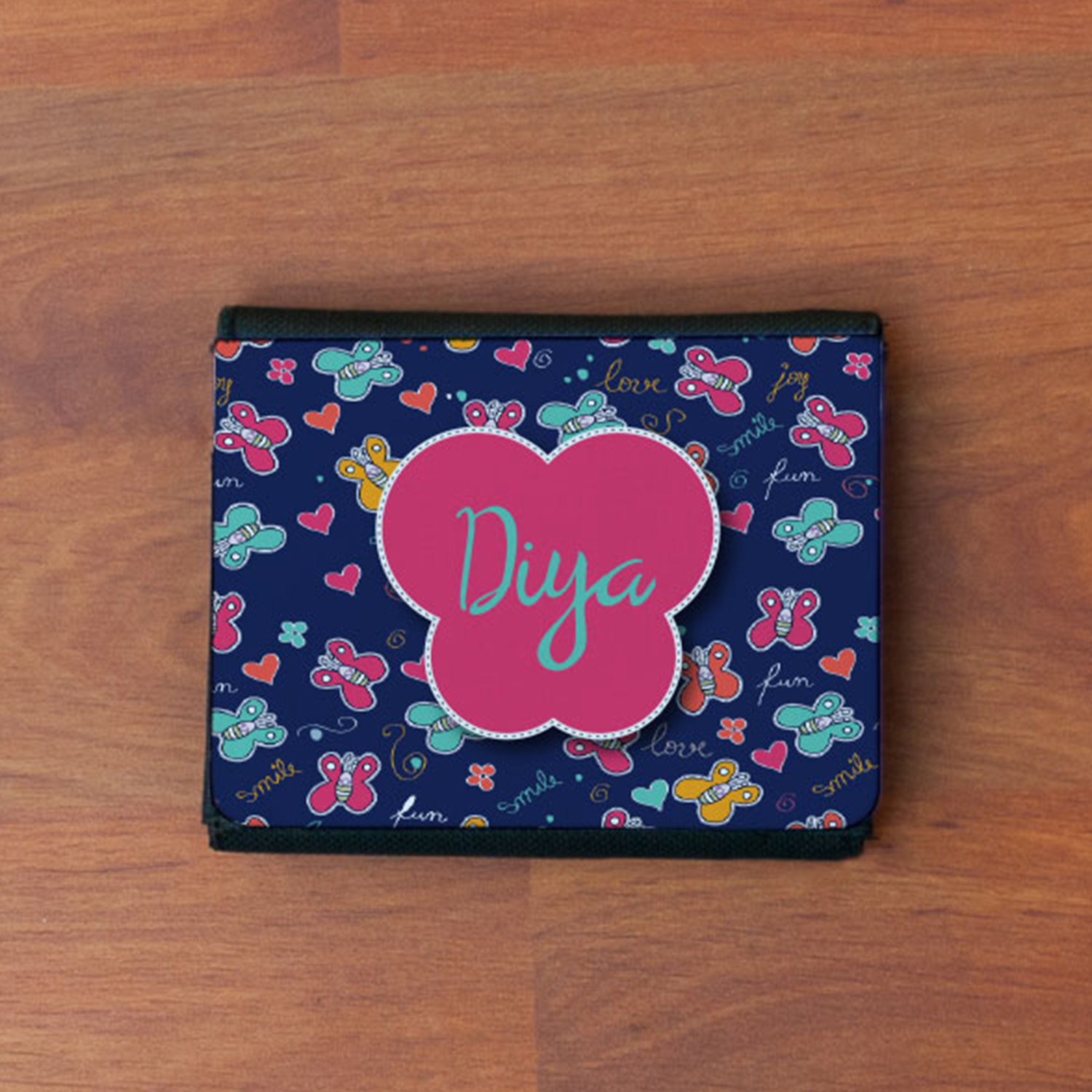 Butterfly Personalized Gift Wallet