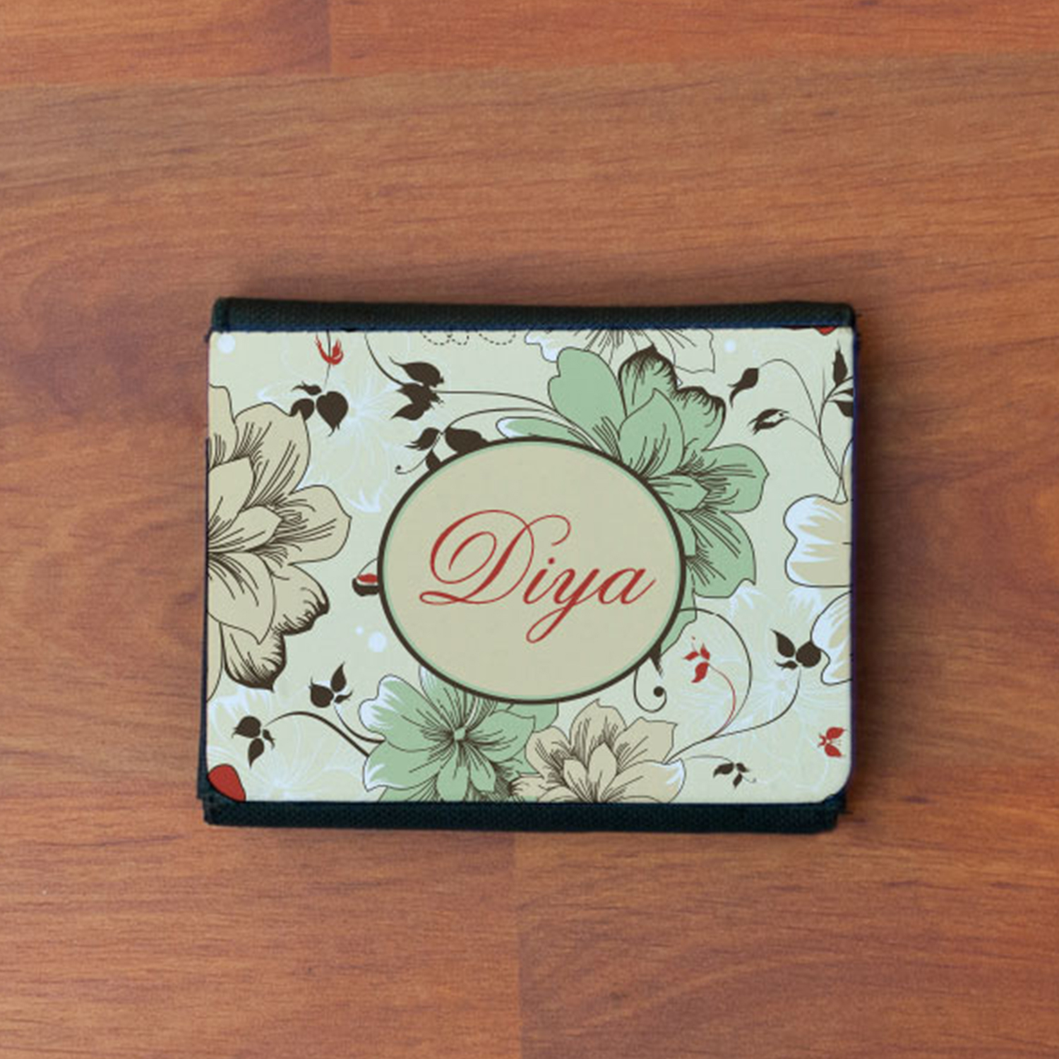 Cherry Bloom Personalized Gift Wallet For Girls