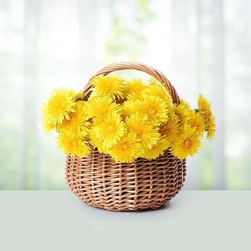 Yellow Mums Bouquet