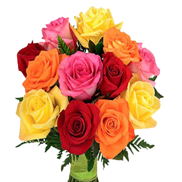 Send Flowers Bouquet of Yellow Red Roses Flowers Online | Flowers ...