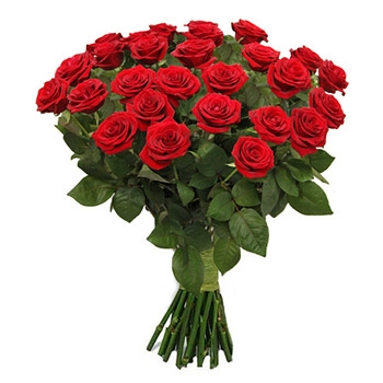 Flowers Bouquet Of 25 Red Roses