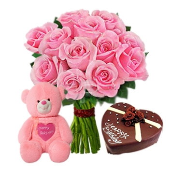 V-Day--25-Pink-Roses-Bouquet-N-2.2-Lb-heart-chocolate-cake-N-6-inch-Teddy.jpg