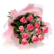 Pink Roses Flowers Flowers Bouquet