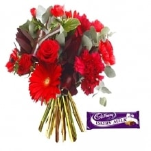 Flowers bouquet-Happy Memories-order flower online delhi