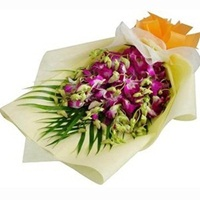 Flowers bouquet-Orchids -online flower delivery in Delhi