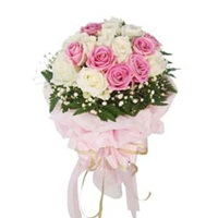 Flowers bouquet-Kind Heart-Send flowers 2 Delhi