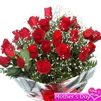 Flowers Bouquet of 20 Red roses