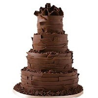 4 Tier Chocolate Cake