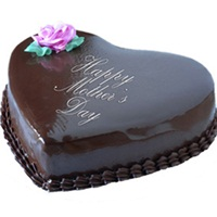 Five Star Bakery - Heart Chocolate Cake 1Kg