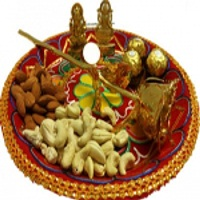 Rajasthani Thali with Dry Fruits