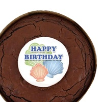 Birthday Brownie Cake - Shells