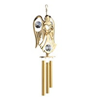 WINDCHIME ANGEL WITH HEART