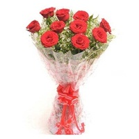 Red Roses Bouquet- send flower in delhi same day