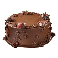 Strawberry Dark Chocolate Cake