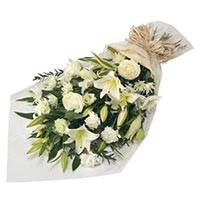 15 Mix White Flower Bouquet