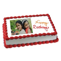 Birthday Eggless Photo Cake
